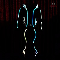 Buy Neon light tron led suit costume in China on Alibaba.com