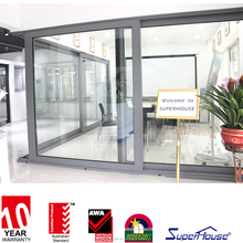 Euro Type strong and heavy duty lift&sliding door in Superhouse