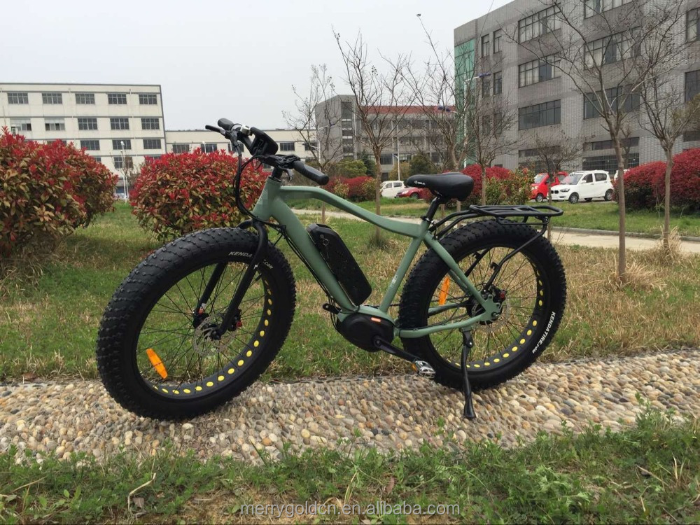 2016 top sale battery powered cycles fat tyre electric bicycle