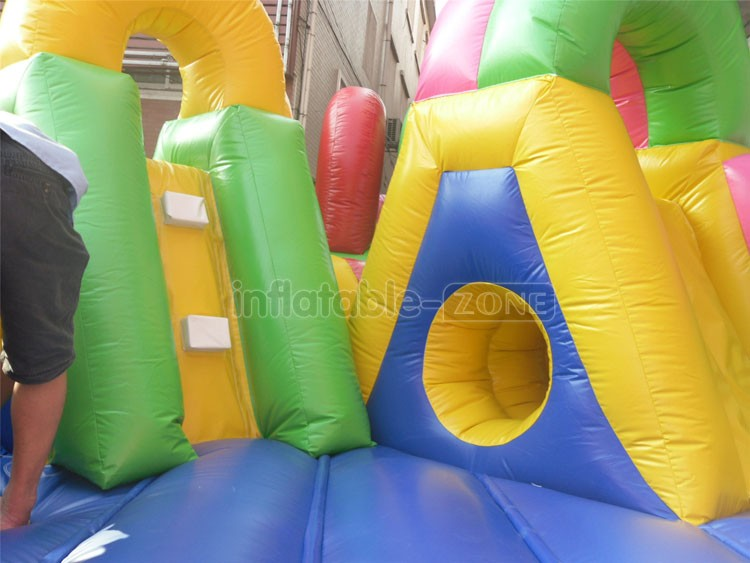 Inflatable bounce children's park, kids jumping round bouncer