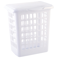 Made In China Rectangle Modern Plastic Handle Laundry Basket