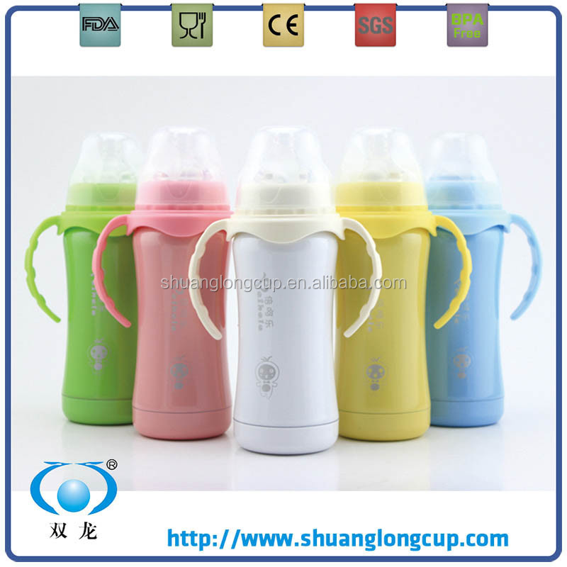 180ml (6oz) BPA-Free stainless steel baby bottles