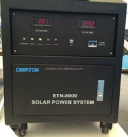 1kw/2kw/3kw/5kw/8kw solar energy generator system (for home and industry use) High efficiency!