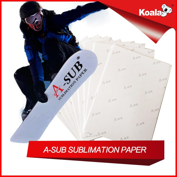 A-SUB A4 Size sublimation paper , Aluminium plate transfer sublimation paper