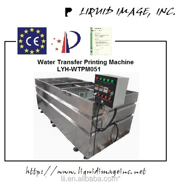 Hot sale hydrographic machine & water transfer printing & hydrographics dipping tank LYH-WTPM051