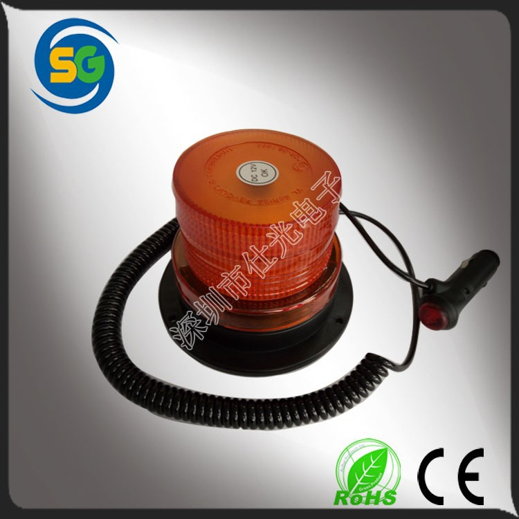 5W Magnetic rotating and strobe flash light Car Led Warning light Strobe Beacon LED Strobe Light