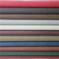 China Embossed Semi PU Leather Synthetic Leather Home Textile & Leather Products for Sofa