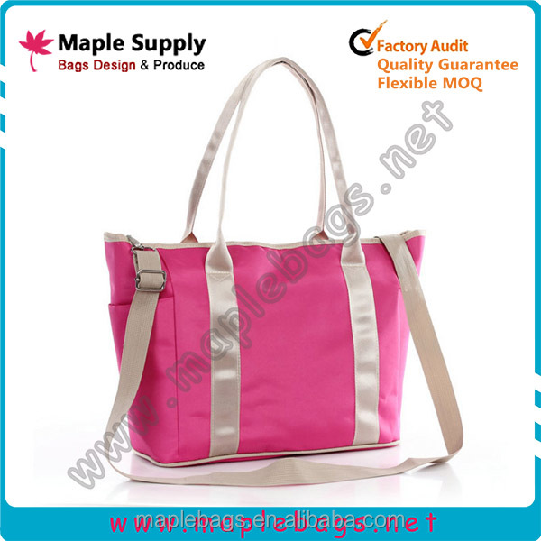 Lady tote diaper bag in different colors