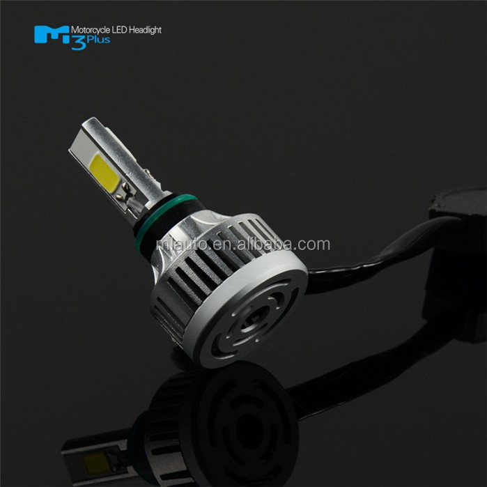 Brightest and mini size 32w 3000lm M3 plus led motorcycle headlight