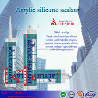 300ml acrylic silicone sealant cartridge pack