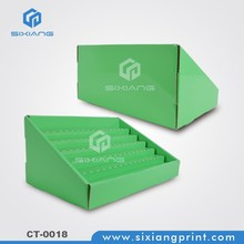 POP Toothbruch Corrugated Paper Counter Display