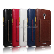 Luxury leather stand hard back case cover For Huawei Ascend MATE 2