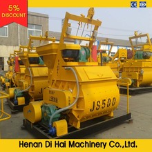 JS500 Ready Mixed Concrete/Cement/Precast Mixer Machine Price