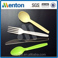 2015 3.7g PS disposable plastic kitchenware Fork,knife