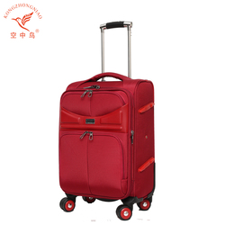 Laptop Trolley Bag fashion Rolling leather Luggage bag for women