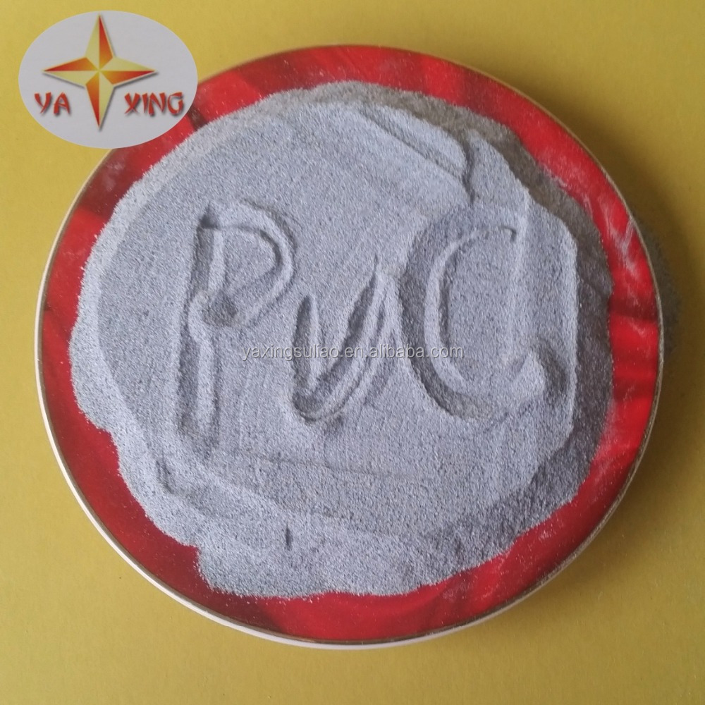 CUSTOM grinded PVC powder from rigid grey PVC pipe recycles