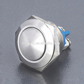 Anti-vandal pushbutton switch electrical push button switches metal push button switch