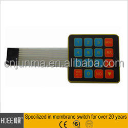 Newest Colorful Polyester Material Membrane Switch Brand Keyboard