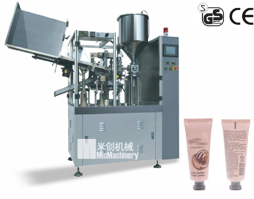 micmachinery Automatic manual plastic tube sealing machine