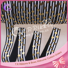 5/8 inch printed fold over elastic for hair accessories
