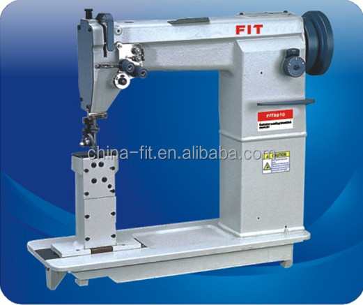 Post Bed FIT8810/8820 Double Needle Sewing Machine shoe making machine leather duty material