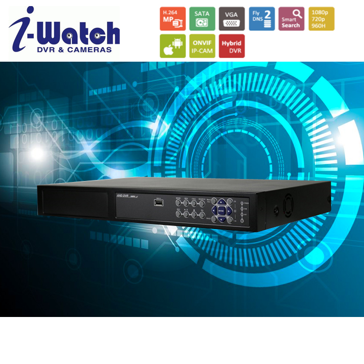 IW-5032R2-N 32CH Embedded NVR with optional PoE