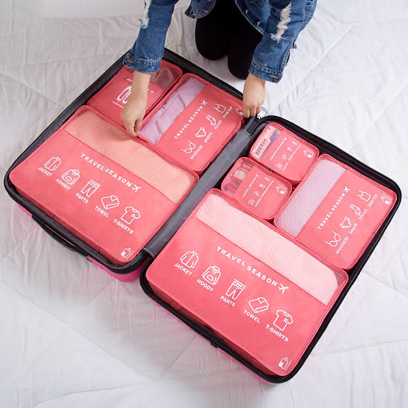 Portable 5 Pcs Packing Cubes Organizer For <strong>Travel</strong>