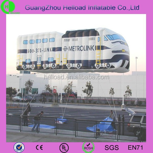 inflatable car flying balloon/plastic floating balloon car