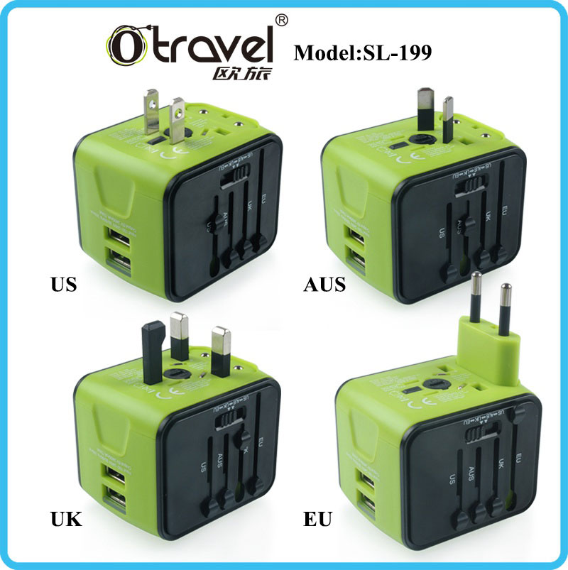 Factory supply universal adapter for personalized gifts, wedding favors and gifts for guest,gifts for thread ceremony