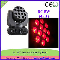 Import Cheap Goods From China 12x10W LED Moving Head Beam