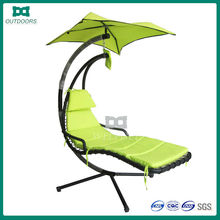 Luxury leisure swing canopy bed outdoor