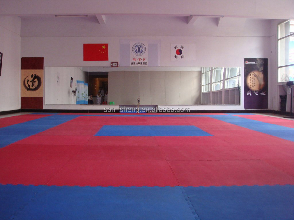 Standard Eva Tatami Mat Interlocking Karate Judo Ijf Mat