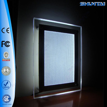led magnetic face clear poster light box A1 pockets