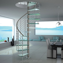 House owner economical small spiral staircase for all people