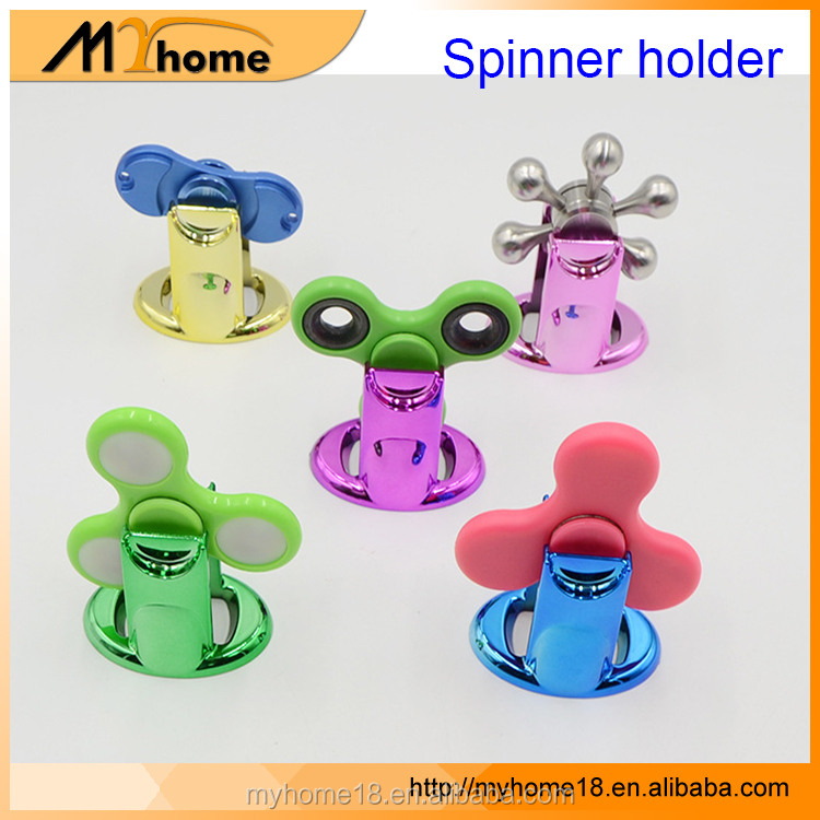 Hot 2017 New Design Finger Games Hand Toy Hand spinner holder