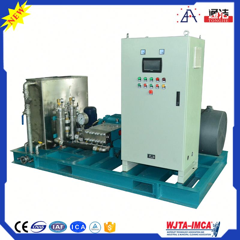 Chinese Manufacture High Pressure Water Jet Press Sections Cleaning