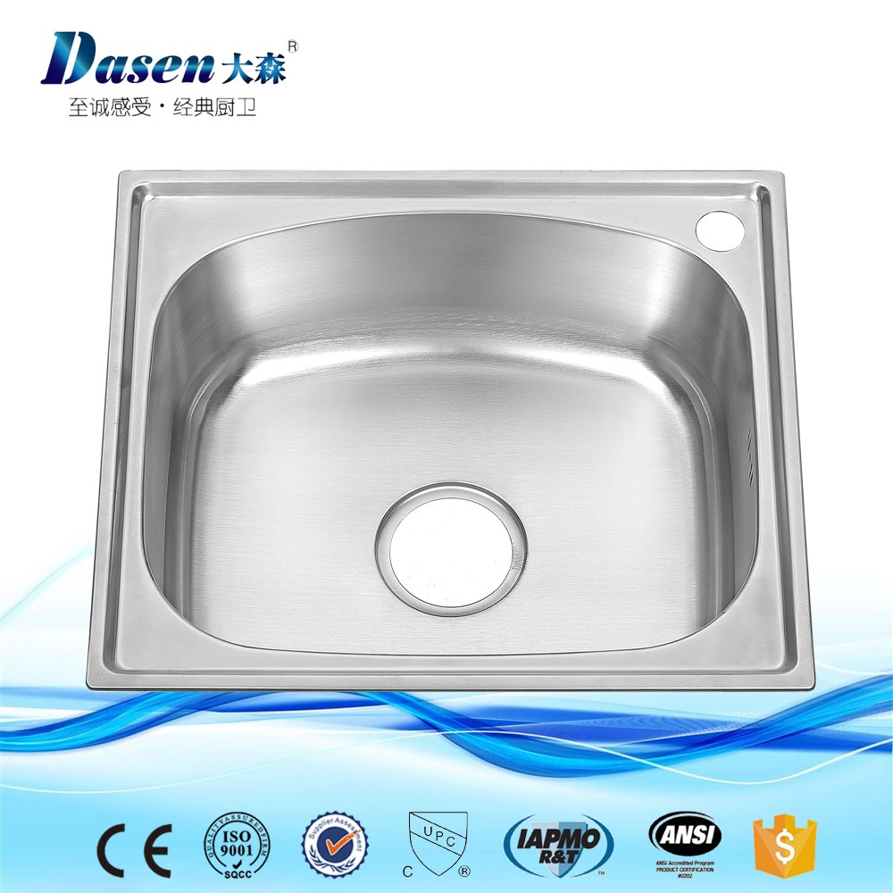 Professional limo accessories exporting stainless steel single bowl rv laundry sink