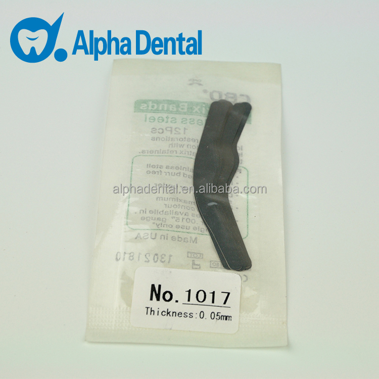 Dental Stainless Steel Tofflemire Matrix Band