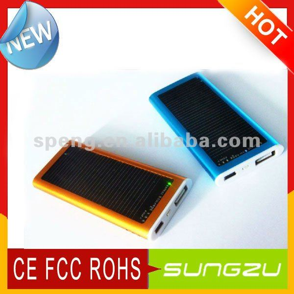 Sungzu Emergency Solar Charger MobilePhone /MP3/MP4/PSP& Cellphone Solar Charger For IPhone4G/4GS