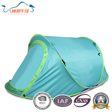 Automatic Open Camping Fibreglass Pole polyester Waterproof Bounce Tent