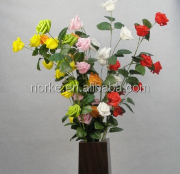 Best Artificial Dried Rose Flowers Bunch