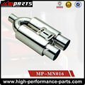 Universal Drifting Car Stainless Steel Exhaust Muffler