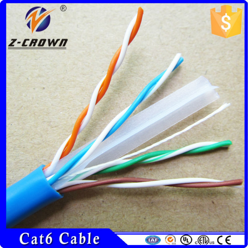 Cat6 UTP Cable UL Standard cable 23AWG 0.55mm