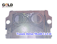 BR 0.65 plate heat exchanger mould, for plate fins, china mould and die manufacturer