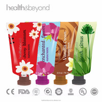 Wholesale Manufacturer direct soft plastic cylinder tube shea butter/ olive oil /aloe vera extract body hand lotion cream