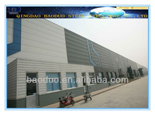 low cost prefabricated steel structure building