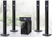 5.1 tower home theater speaker subwoofer/fm/USB/MP3/SD/MMC Card Slot