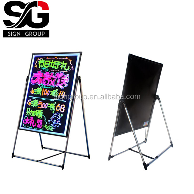 High quality led writing board for shops/restaurants/stores/ advertising display