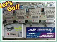 WY1204C Four Head used embroidery machine brother Tubular Embroidery machine