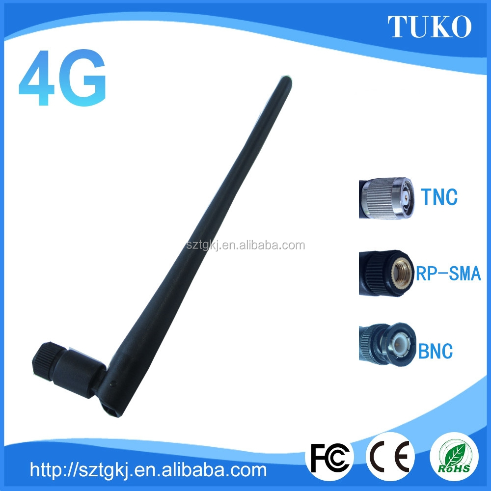 microwave communications 4g rubber duck wireless antenna 50km